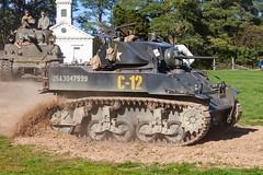 Armor Column (rmssch89) Tags: history oldbethpagevillagerestoration reenactment display war military militia demonstration nassau newyork armor tank machine column worldwar2