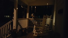20161031_214312 (yetanotherstephanie) Tags: halloween frontporch foatingcandles