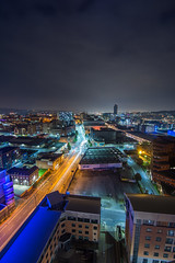 Velocity Tower, Sheffield - Oct. '16 (Craig Skinner - www.craigskinnerphotography.co.uk) Tags: sheffield southyorkshire yorkshire rooftop rooftopping trespass ue urbanexploration urbex nikon cityscape tokina 1116mm stpauls citycentre