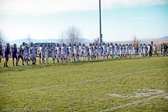 591A3055.jpg (mikehumphrey2006) Tags: 110516noahfootballvarsitypolsonplayoff football polson sports action billings central pirates coach punt pass catch playoff high school varsity