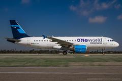 XA-VIP - Airbus A320-214 - Mexicana (Bjoern Schmitt) Tags: xamxk mexicana airbus a320214 cn 3304 oneworld special side on klax lax losangeles airplane