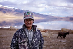 Herdsman in Tso Moriri (franciscus nanang triana) Tags: tsomoriri lake ladakh himalaya beautiful landscape travel fujifilm