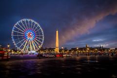 nuages parisiens (boooHguy) Tags: france iledefrance lieux paris placedelaconcorde