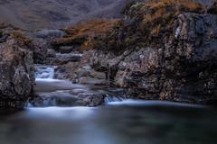 The Fairy Pools - Scotland (Jan Hoogendoorn) Tags: glenbrittle scotland unitedkingdom gb waterval waterfall fairypools le longexposure