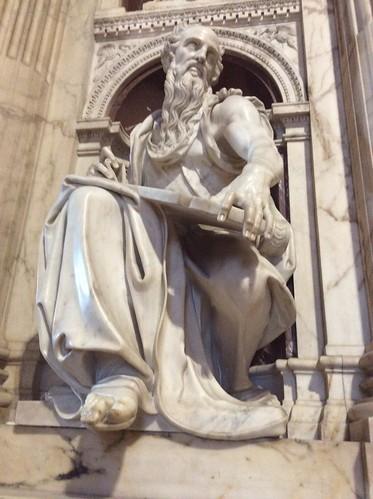 Rivestimento Marmoreo della Santa Casa di Loreto (Parete est, particolare)