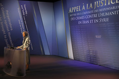 Maryam Rajavi's speech- Ending Impunity for Perpetrators of Crimes Against Humanity In Iran and Syria-1 (maryamrajavi) Tags: maryamrajavi endingimpunity syria ghozali aleppo againsthumanity iran iranianresistance regime iranianregime pmoi campliberty mullahs ashraf valiant massoudrajavi freedom khamenei maleki attacks parliament evinprison gohardasht politicalprisoners 1988 existence people worldpowers us massacres middleeast movement victory