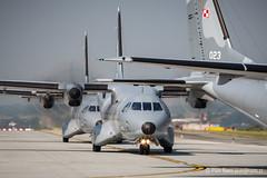 Parade (Piotr Rams) Tags: casa poland formation krakw m28 polskie wojsko polishairforce c295 bryza epkk siy powietrzne