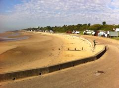 Morning! (Phil Gyford) Tags: uk beach essex walton frinton waltononnaze waltononthenaze frintononsea