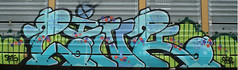 Link (Skyline Crony) Tags: graffiti paint tag caps vandal link piece freight throw 513 streal