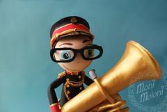 fofucho zamorano con tuba (moni.moloni) Tags: banda pareja musica tuba traje regional zamora foamy danzas coros folclore fofucho gomaeva fofucha fofuchos fofuchas
