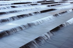Waterfall | Justine Magny (Justine Magny) Tags: longexposure wild paris france art nature water photography louis design waterfall eau outdoor architect amour cascade vuitton journe patrimoine photooftheday fondation europen fluidity fluide exterieur longexpo flv