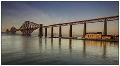 Rail bridge Sunset (wmstuart5925) Tags: bridge sunset canon rail forth firth ef1740