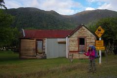 Old farm house (4seasonbackpacking) Tags: winter newzealand house home walking hiking farm backpacking nz southisland farms toots ta tramping nobo achara teararoa teararoatrail 4seasonbackpacking fourseasonbackpacking tatrail