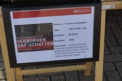 DAF Museumdagen Eindhoven 04-10-2015 (marcelwijers) Tags: 6x6 la dummies tank eindhoven 328 1956 frankrijk pk met dummy ya echte hercules tanks bij aan 132 daf tijdens werden oefeningen courtine gebrek ingezet benzinemotor be0851 museumdagen 04102015
