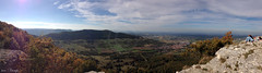 Herbsttag (Mr.Vamp) Tags: autumn panorama oktober nature landscape october natur panoramic landschaft escarpment foresight swabianalb weitsicht herbsttag schwäbischenalb octoberday albtrauf oktobertag mrvamp derbreitenstein hohesfelsplateau thebreitenstein highrockyplateau
