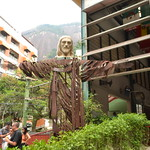 Jesus-Replika auf dem Weg zu Cristo Redentor thumbnail