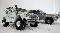 ICELAND MARCH 2015 (238) (k44rll) Tags: snow iceland nissan rover reykjavik land patrol defender goldencircle