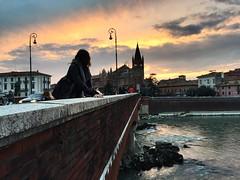 147/365 ponte navi, Verona (Luca's79) Tags: bridge sunset verona 365 project365 pontenavi