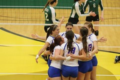 Volleyball New Paltz vs Oswego at Brockport 11/7/15 (BrockportAthletics) Tags: tournament volleyball vs newpaltz oswego brockport 11715