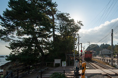 20151017-DS7_5352.jpg (d3_plus) Tags: street sea sky nature japan river photo nikon angle wide railway super jr daily days sp di  toyama these af tamron    ld 1735mm himi      1735 aspherical   a05   tamronspaf1735mmf284dildasphericalif f284 d700