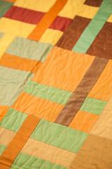 Autumnal Paintbrush Crosses Quilt (Justhands-on.tv) Tags: autumn quilt patchwork autumnal oakshott oakshottfabrics justhandsontv paintbrushcrossesquilt