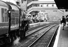 SVR 37597bwcr (kgvuk) Tags: station trains railwaystation locomotive railways steamtrain svr steamlocomotive severnvalleyrailway 460 bewdley 73129 bewdleyrailwaystation caprottifive brstd5mt