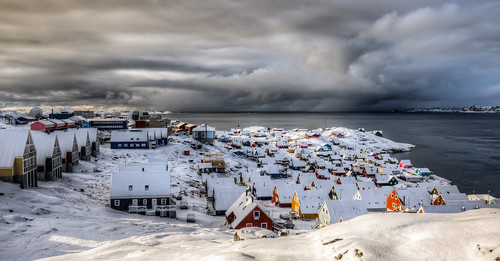 Storm Gathering Outside Nuuk