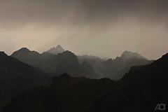 Ovit - Yedigöller (ganglionn) Tags: trip travel mountain nature rain silhouette fog canon landscape twilight offroad outdoor natura alpine summit dslr alpinelake could coulds erzurum rize turkei yedigöller ispir ovit verçenik