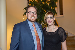 LACO executive director Scott Harrison and Angela Detlor