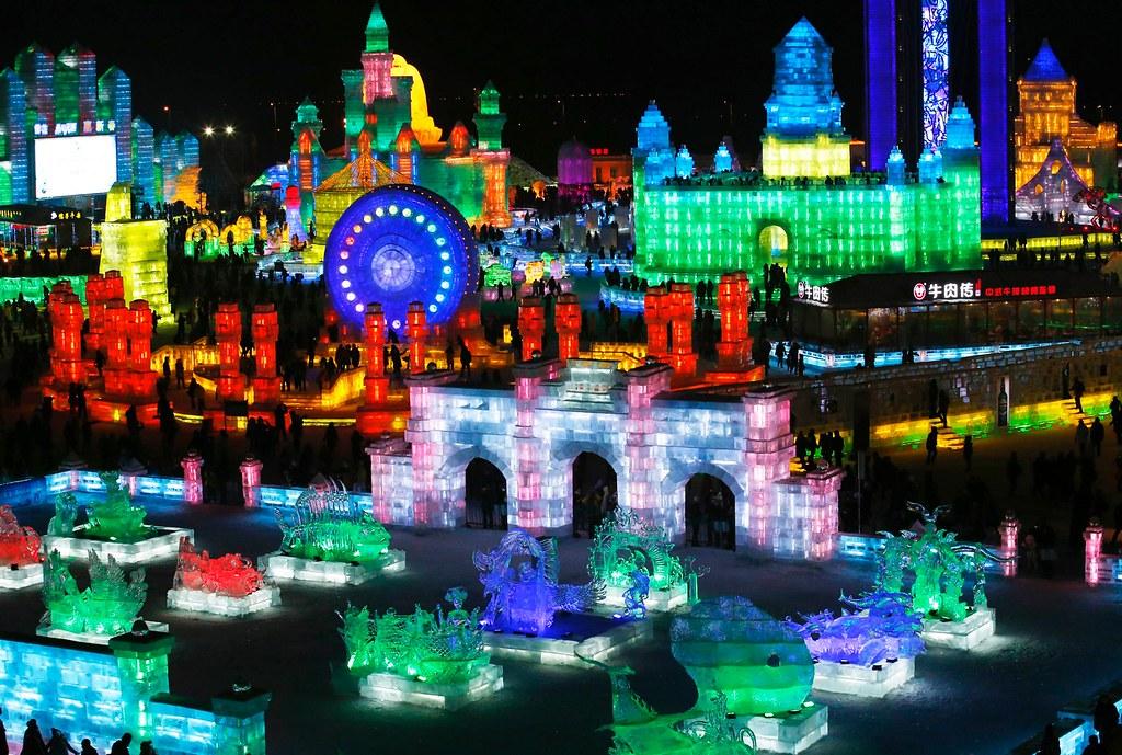 Lễ hội băng đăng quốc tế ở Cáp Nhĩ Tân.jpg