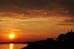 Sunset, Cape Cod, Massachusetts (shutterbugmin) Tags: ocean sunset beach capecod atlanticocean