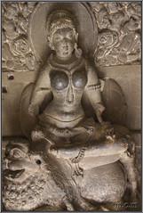 Parvati, kali y Durga. (Fotocruzm) Tags: india asia kali maharashtra durga parvati aurangabad patrimoniomundialdelahumanidad hinduista rupiaindia cuevasellora fotocruzm mcruzmatia religinhinduista grutabudista