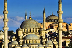 Hagia Sophia and New Mosque Istanbul (NATIONAL SUGRAPHIC) Tags: democrasy yavuzselim nightscape sunrise sultanahmet fatih ayhanakar trkiye newturkei turkei trkei nationalsugraphic sugraphic yenitrkiye mosques camiler osmanlcamileri ottomanmosques ottomanhistory osmanltarihi istanbul ayasofya cityscape cityscapephotography cityscapes sultanahmetmeydan sultanahmetsquare historicalplaces uzunpozlama longexposure sleymaniye sleymaniyecami sleymaniyemosque ramadan ramadanfestival ramazan ramazanbayram mahya zeyrek galatatower galatakulesi metrokprs metrobridge ayasofyacamii ayasofyamosque yenicami newmosque