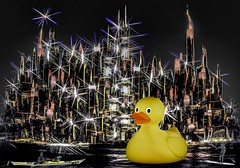 New York is Just Ducky (Rusty Russ) Tags: new york city nyc people color apple strange yellow composite night photoshop buildings river magazine t creativity photo yahoo blog duck big google paint flickr pin all skyscrapers image artistic creative young photographers commons manipulation brush blogs national ducky montage saturation getty hudson tall newsroom paysage hue flic winners geographic bing stylized wiki facebook wikimedia openuniversity stumbleupon daum worldskills ilri painttexture reddit twitter photoscape tumblr flickriver pixelpeeper fiveprime flickrhivemind pinterest alpilo oceannetworks comflight stockpainterly