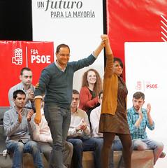 Csar Luena en Sama (FSA-PSOE) Tags: 20d adriana electoral fsa elecciones csar gobierno socialismo psoe campaa lastra presidencia socialistas luena candidata