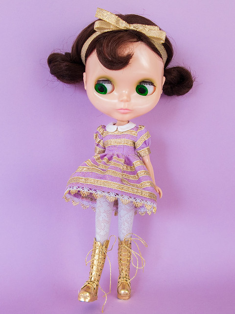 Petunia wearing Lounging Linda