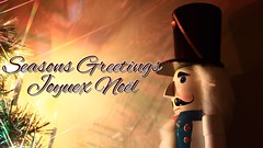 Seasons greetings (CCphotoworks) Tags: christmas stock stockphotos nutcracker christmascard seasonsgreetings joyuexnol