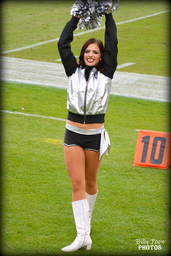 2015 Oakland Raiderette Kelly @ O.co Coliseum