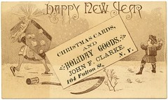 Happy New Year, John F. Clarke, New York, N.Y. (Alan Mays) Tags: christmas old newyorkcity brown snow ny newyork men boys vintage ads paper advertising children cards typography clothing shoes holidays antique sandals 19thcentury victorian beards illustrations books newyear ephemera clothes type newyears christmascards greetings closing advertisements fonts printed clarke borders fathertime snowballs throwing newyearsday typefaces fultonstreet nineteenthcentury greetingcards babynewyear schoolboys discolored callingcards january1 scythes tradecards hourglasses ledgers johnclarke newyearcards holidaygoods johnfclarke closingthebooks