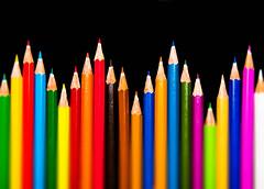 Colour - 16 (mithila909) Tags: pencil colour stilllife wave