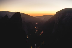 (kendall.plant) Tags: yosemite california travel adventure mountains nature light vsco fade lightroom outdoors night dusk sunset orange long exposure landscape view