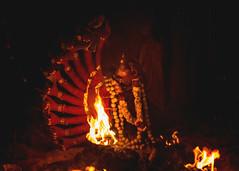 The End (Sudharsan Ravikumar) Tags: 500px kulasai kulasekarapattinam mutharamman dasara temple goddess kali fire red makeover low light outdoor men people travel tradition culture festival glow hands pot night thiruchendur tamilnadu india dussehra cwc chennai weekend clickers cwc555 black background