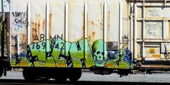 ICH (timetomakethepasta) Tags: ich ichabod yme 63 learn jurne twigs freight train graffiti art armn reefer union pacific