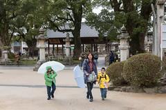 Can Put The Umbrella Away (camike) Tags: 24120mmf4gvr d750 fukuoka japan so gardens temple umbrella walking