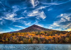 October Sky Peaks of Otter (Terry Aldhizer) Tags: october sky peaks otter blue ridge mountains parkway bedford virginia twilight sunset evening terry aldhizer wwwterryaldhizercom