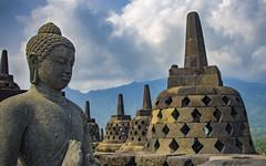 Stupa bokeh, Central-Java, 20160919 (G  RTM) Tags: borobudur temple compound stupa buddha