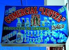 Madonna de Limpieza (magellano) Tags: insegna sign signal uyuni bolivia madonna limpieza pulizia cleaning lupita producto prodotto product comercial archer