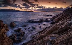 The suns entrance (lynamPics) Tags: 5dmkii canon pallarenda sunrise townsville zeiss australia landscape leefilters ocean rocks