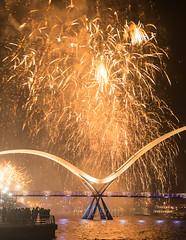 Infinity Bridge (Noi Dennis-Photography) Tags: infinity fireworks