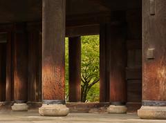 Gate pillars (Tim Ravenscroft) Tags: pillars gate sanmon nanzenji higashiyama kyoto japan architecture